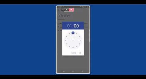 Android mobile app — Easy Projects Training