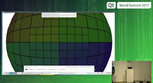 QtWS17 Earth rendering with Qt 3D, Paul Lemire - KDAB