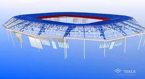Tekla France BIM 2014 - JAILLET ROUBY : Le Stade des Lumières