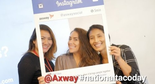 Celebrating National Taco Day! | Axway Social Media Event