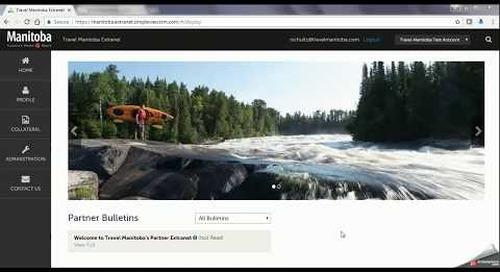 Travel Manitoba Partner Extranet 4.0 - Listings