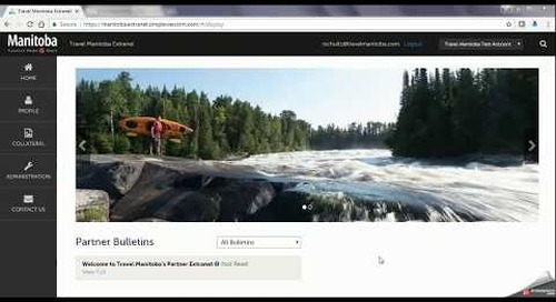 Travel Manitoba Partner Extranet 4.0 - Listings