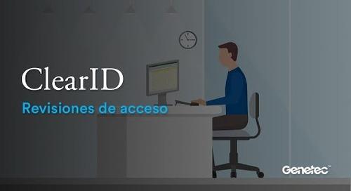 ClearID - Revisiones de acceso