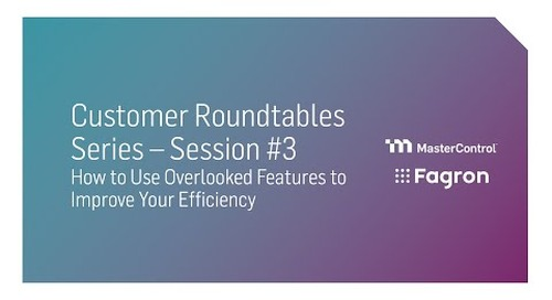 Session 3: How to Use Overlooked Features to Improve Your Efficiency– 24 March
