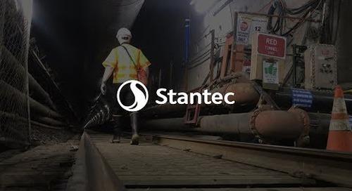 Purple Line Halfway Milestone: Stantec Leadership Tunnel Tour