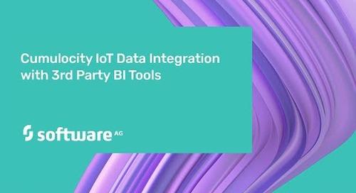 Cumulocity IoT Data Integration with 3rd Party BI Tools