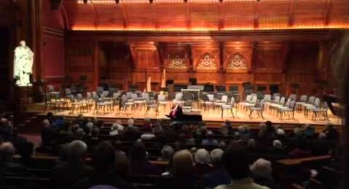 Étude Event with the Boston Philharmonic