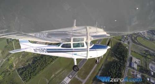 Steep Spiral Landing - MzeroA Flight Training
