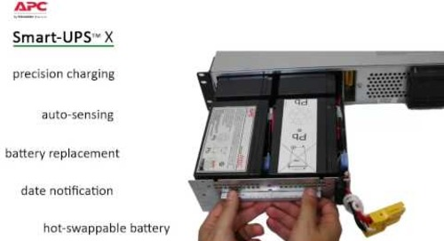 APC by Schneider Electric Smart-UPS X Overview