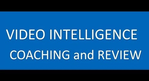 Video Intelligence Coaching and Review