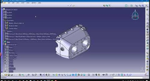 How to Create an Attribute Link in CATIA