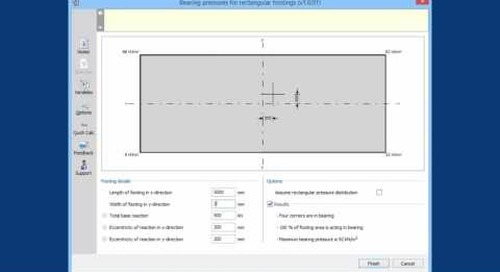 Using the Tekla Tedds API Tester Application (no audio)