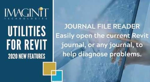 Utilities for Revit Journal Reader
