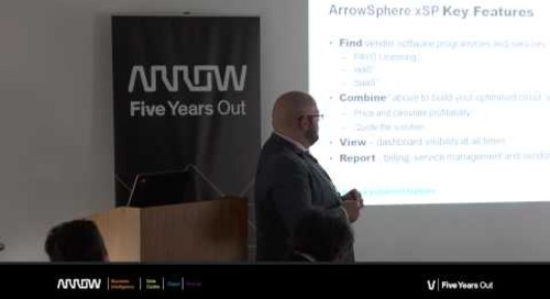 Scott Murphy, UK ArrowSphere & Cloud Leader, Arrow ECS