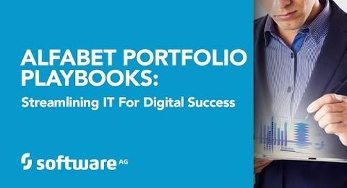 Alfabet Portfolio Playbooks: Streamlining IT for Digital Success