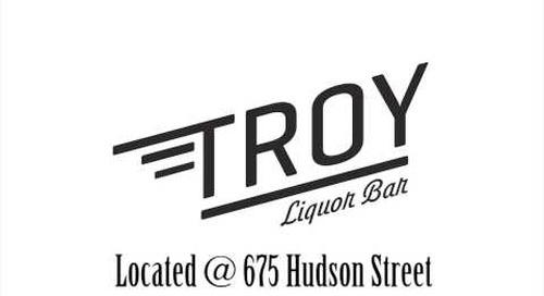 George Wayne & Domingo Zapata Host at Troy Liquor Bar