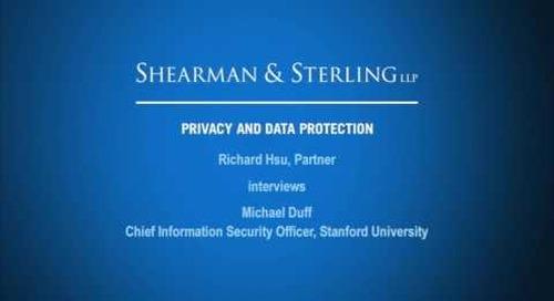 Hsu Interviews Chief Information Security Officer at Stanford University