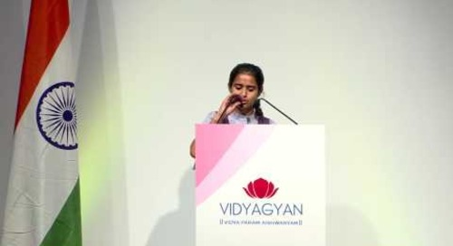 Ms Shikha Sirohi's address at VidyaGyan Graduation Day   August 4, 2016