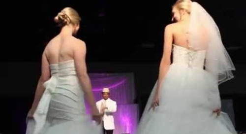 David's Bridal & Men's Wearhouse Fashion Show featuring BJ Goliday