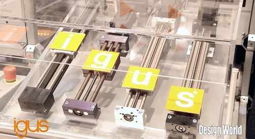 Introduction to igus DryLin E Linear Slide Table at MD&M West