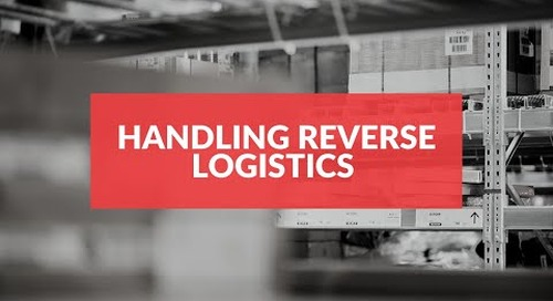 How to handle reverse logistics and returns processing