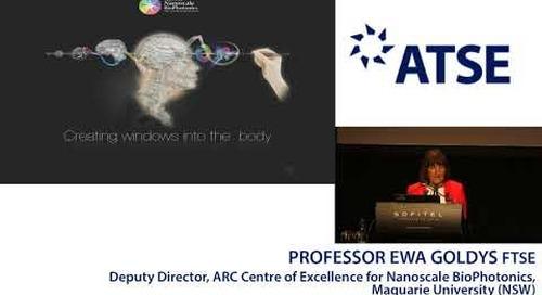 ATSE 2017 New Fellow: Professor Ewa Goldys FTSE