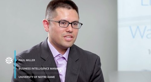 University of Notre Dame: Making Data Widely Accessible with Snowflake