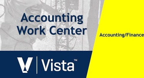 Accounting Work Center