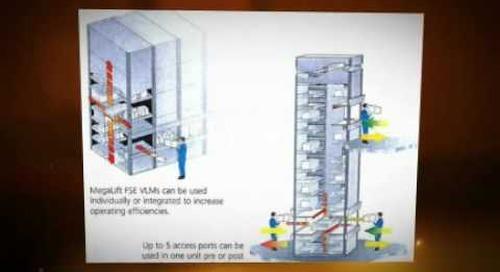 Kardex Remstar vertical carousels lifts remstar megastar shuttle lektriever 415113
