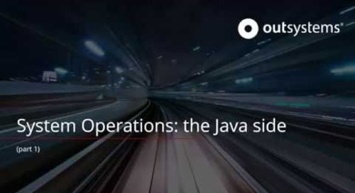 System Operations: the Java side - part 1