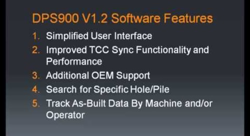 Top 5 Features of DPS900 V1.2 Software