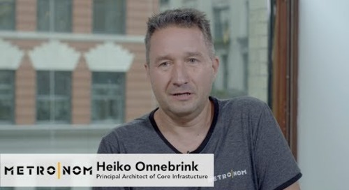 How MetroNOM from MetroAG is Building HA Services that are Globally Compliant