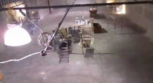 Data Center Build Time Lapse Video #7