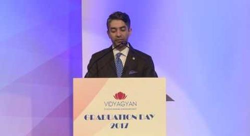 VidyaGyan Graduation Day 2017 | Abhinav Bindra