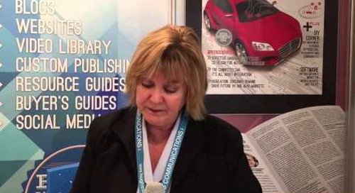 Embedded World 2015 – Lynda Kaye, Hughes Communications
