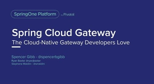 Singapore - Spring Cloud Gateway - Spencer Gibb