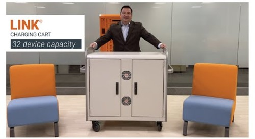 Bretford | LINK® Charging Cart for laptops