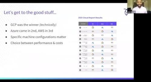 2021 Cloud Report | Cloud Performance Evaluation | AWS vs GCP vs Azure
