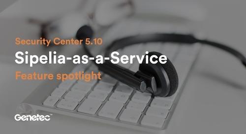 Feature spotlight: Sipelia-as-a-Service