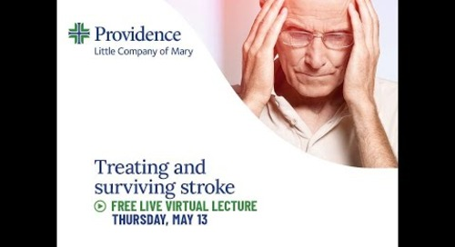 PLCM Treating and Surviving Stroke Community Lecture