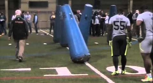 Notre Dame Pro Day Highlights