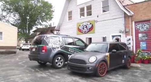 Badger Sportsman Truck Wrap