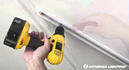 Track Lighting Installation from Lithonia Lighting
