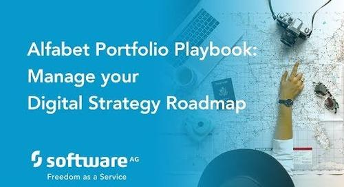 Alfabet Portfolio Playbook: Managing your Digital Strategy Roadmap
