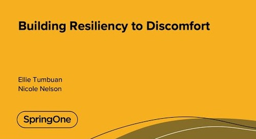 Building Resiliency to Discomfort