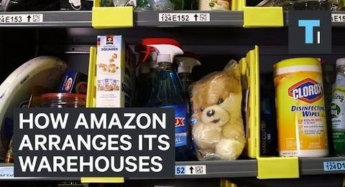 How Amazon Arranges Its Warehouses