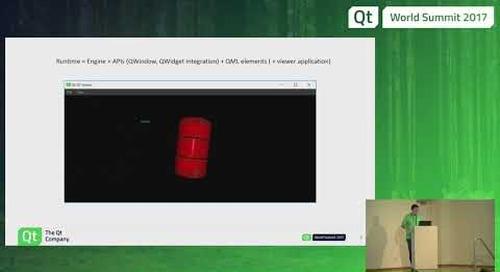 QtWS17 - Qt 3D as a Runtime Enabler, Laszlo Agocs, The Qt Company
