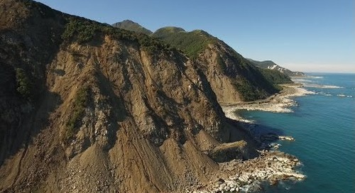 Spectacular HD DRONE FOOTAGE of KAIKOURA EARTHQUAKE DAMAGE