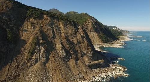 Spectacular HD DRONE FOOTAGE of KAIKOURA EARTHQUAKE DAMAGE