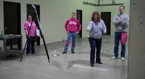 Employee Appreciation Day Pink Team ID Curling  Baudville